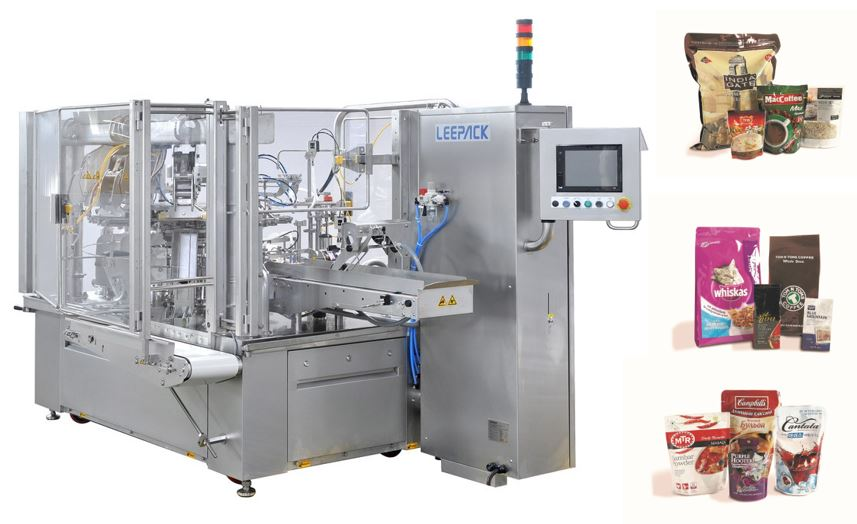 Leepak pouch machine